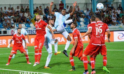 L'Entella affronta il Perugia allo stadio Curi