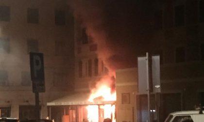 Incendio nella notte presso il panificio Tossini di Rapallo