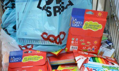 """Iniziativa """"Dona la spesa"""" promossa da Coop: donato materiale didattico alle famiglie in difficoltà"""