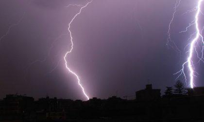 Allerta gialla per temporali martedì 11 maggio dalle 6 alle 15