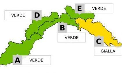 Allerta meteo: si passa al giallo, Rapallo il comune più colpito