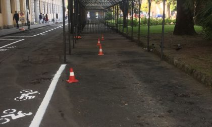Parcheggio biciclette: rimosse 50 carcasse abbandonate