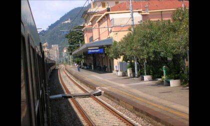 Suicidio in stazione a Chiavari