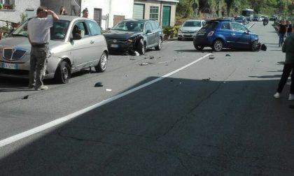 Incidente stradale, coinvolte tre autovetture