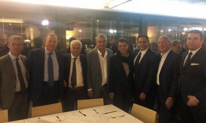 A cena con Toti per festeggiare i risultati delle elezioni della Città Metropolitana