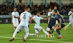 Entella sconfitta dal Palermo, la partita finisce due a zero