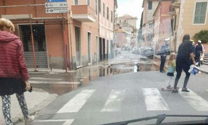 Guasto alle condutture, senz'acqua un quartiere di Sestri