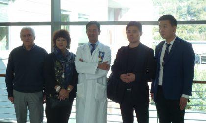 Delegazione cinese in visita a Fisiatria a Rapallo