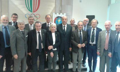 Cerimonia del Panathlon Club Tigullio Chiavari in ricordo di Carlo Parpaglione
