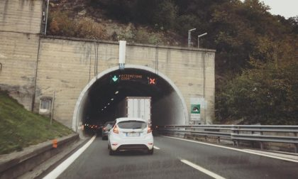A12, incidente a Recco