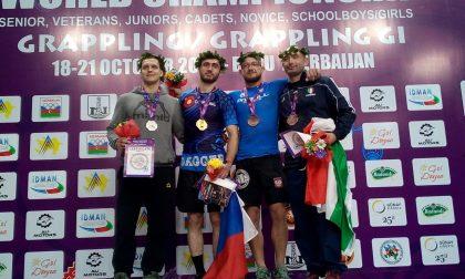 Il sestrese Andrea Lavaggi bronzo ai mondiali di grappling