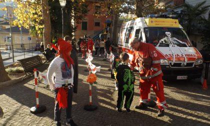 A Uscio Croce Rossa ed Halloween vanno a braccetto