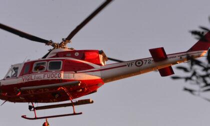 Si sente male nel bosco, 60enne in elicottero all'ospedale di Lavagna