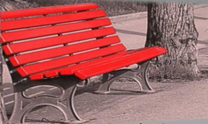 Una  panchina rossa anche a Conscenti