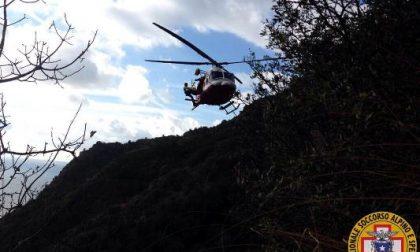 Ferito sul Monte di Portofino, soccorso dal Corpo Nazionale di Soccorso Alpino
