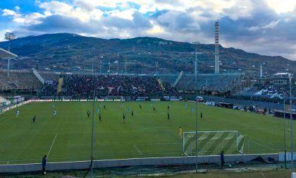Ascoli - Entella 1-1 pareggio sofferto in zona Cesarini per i biancocelesti
