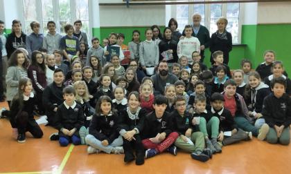Il presidente della Pro Recco si racconta ai ragazzi di Borzonasca