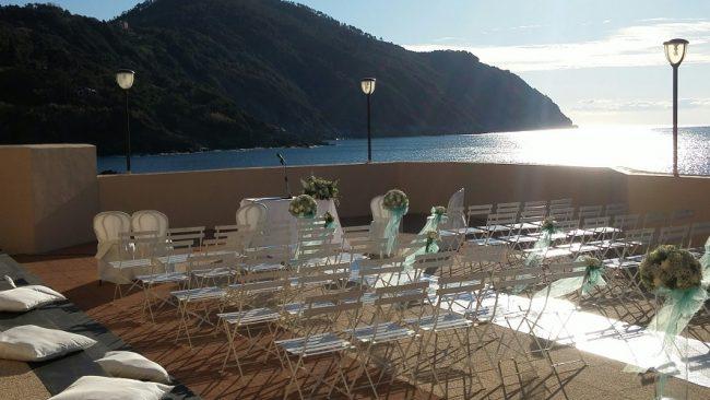 Matrimonio Spiaggia Inverno : Sposarsi in baia del silenzio anche durante linverno il nuovo levante