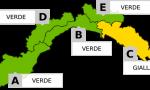 Allerta gialla sul Levante per domani: Santo Stefano all'insegna del maltempo