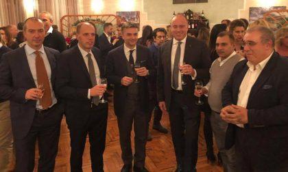 Alla tradizionale cena natalizia di Avanti Chiavari esponenti del Carroccio: «nuove» alleanze in corso?