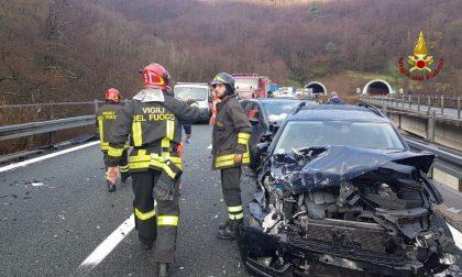 Maxi tamponamento in A12, autostrada interrotta fra Deiva Marina e Carrodano