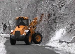 Maltempo: galaverna e alberi caduti. Situazione e interventi sulle strade metropolitane