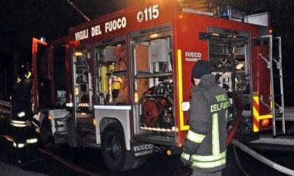 Incendio nella notte a Portobello