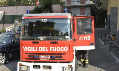 Rapallo, doppio incendio e incubo piromani