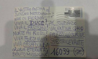 Neofascismo, la Ghio riceve un'altra cartolina «nera»