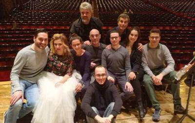 L'artista Baracchini,  da Santa a Milano per La Traviata