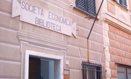 Società Economica, riprende il servizio di prestito librario