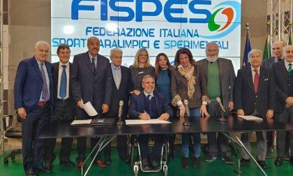 """""""Integriamo i disabili nello sport"""": firmato l'accordo"""