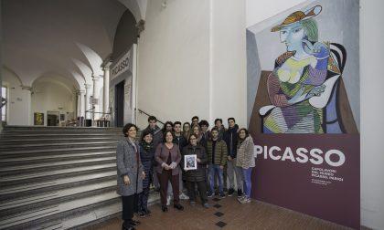 I ragazzi di Sestri Levante fanno raggiungere quota 50mila visitatori alla mostra su Picasso