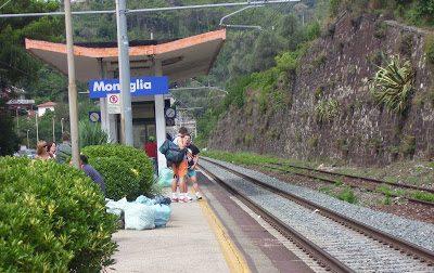 Stazione di Moneglia, botta e risposta tra Garibaldi e Berrino