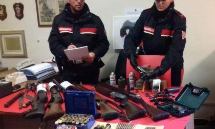 Sequestrato arsenale di armi a Lavagna e quattro chili di droga