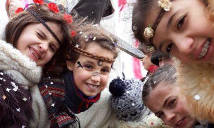 Freddo e nevischio non fermano il Carnevale di Santo Stefano