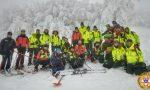 Esercitazione congiunta fra 118 e Soccorso Alpino a Santo Stefano
