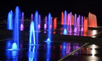 La fontana di piazza Milano a Chiavari dedicata all'8 marzo