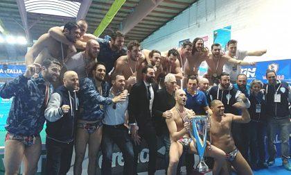 La Pro Recco vince la tredicesima Coppa Italia