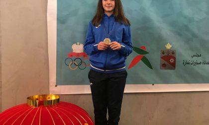 Martina Mugnai conquista due medaglie