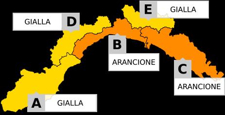 Unione: allerta meteo per criticità idraulica e idrogeologica