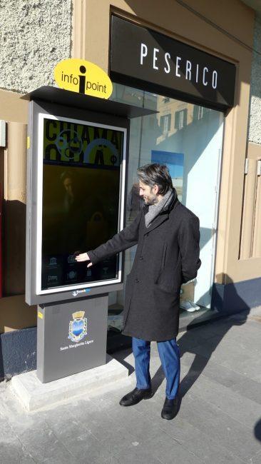 Arrivano a Santa Margherita i nuovi touch screen informativi