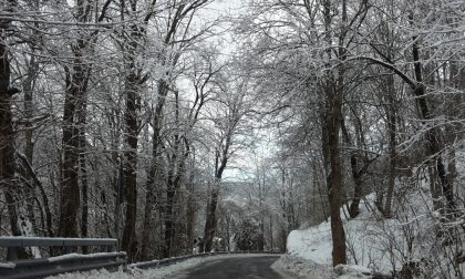 Rezzoaglio, l'escursione con le racchette da neve