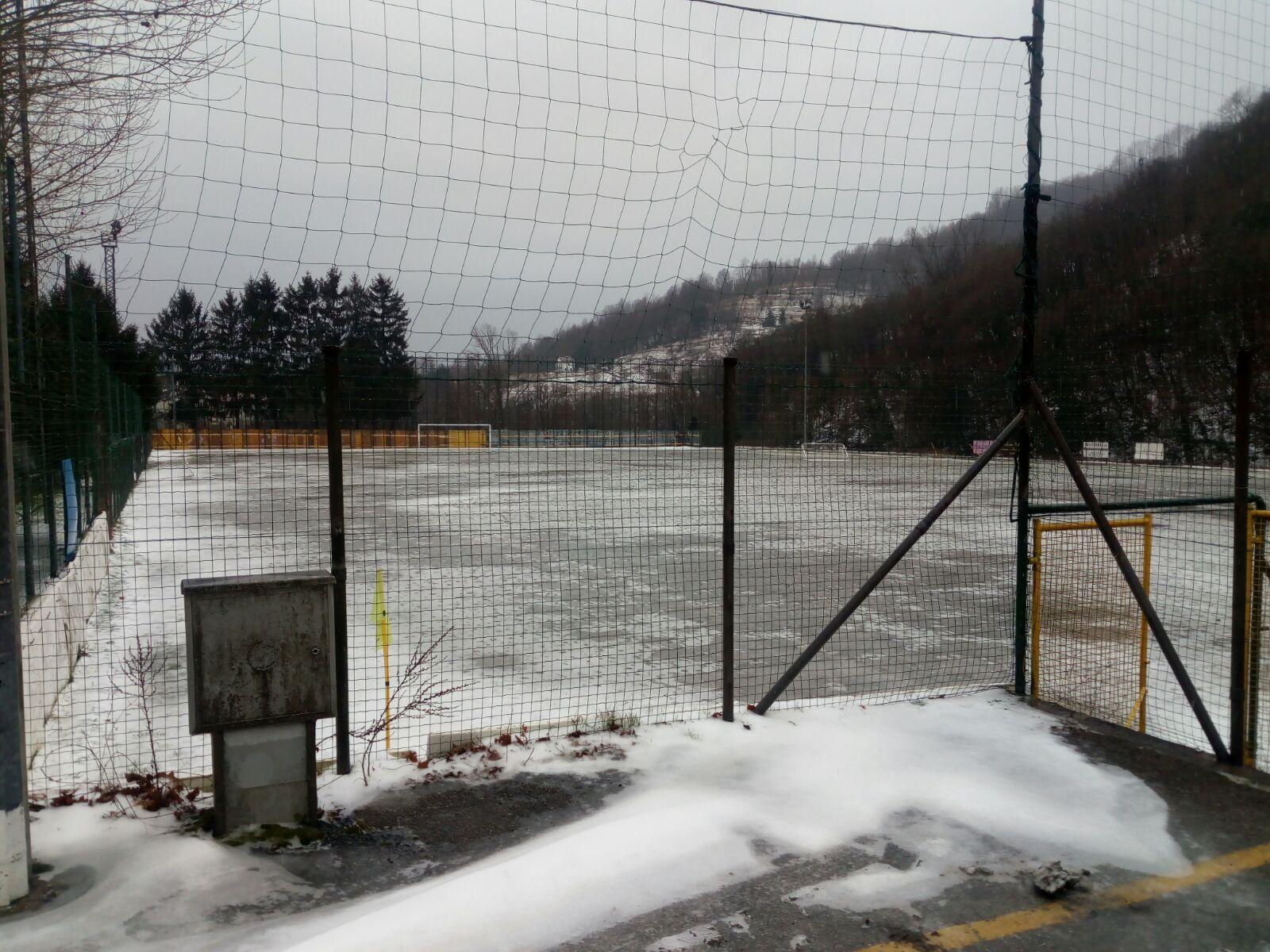 Neve: rinviata Brescia-Entella, rischiano altre 3 gare