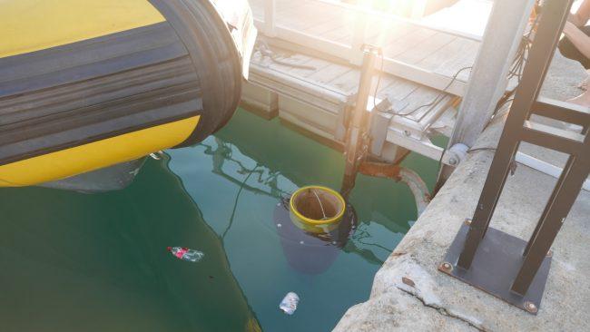 In arrivo i cestini galleggianti &#8220&#x3B;mangia rifiuti&#8221&#x3B;