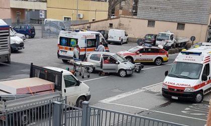 Incidente stradale a Caperana, un ferito grave