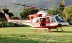 Precipita dalla fascia, grave in elicottero al San Martino