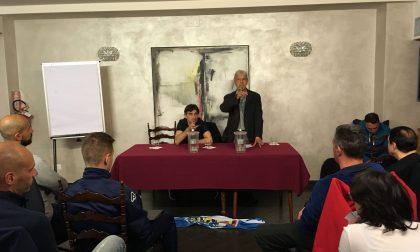 Ieri sera incontro tra Ivan Jurić e gli allenatori del Tigullio