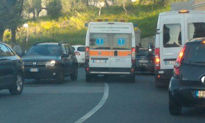Chiavari, incidente questa mattina in circonvallazione