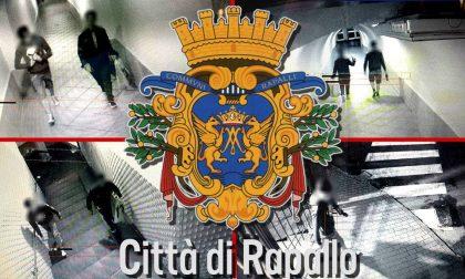 Rapallo, i vandali della Galleria Sant'Agostino pizzicati dalle telecamere